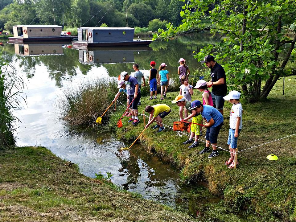 Initiation pêche au coup et découverte nature