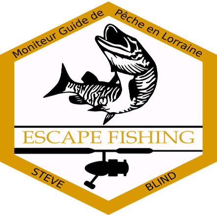 Logo Escape Fishing Stave Blind